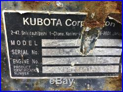 2007 Kubota KX91-3 Hydraulic Mini Excavator CHEAP