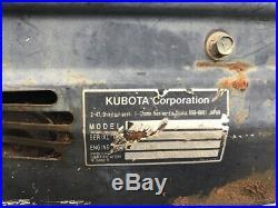 2007 Kubota U25 Hydraulic Mini Excavator