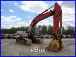 2007 Link-Belt 330LX Excavator, Cab/Heat/Air, 247HP Isuzu Diesel, 8,655 Hours