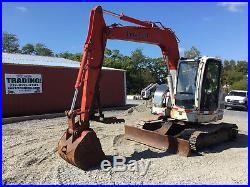 2007 Link Belt 75 Spin Ace Midi Excavator with Cab & Thumb