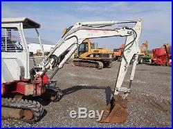 2007 Takeuchi TB138FR Excavator