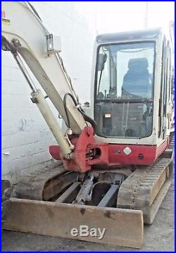 2007 Takeuchi TB145 Mini Excavator 10,761 Lbs 1966 Hrs New Bucket & Thumb