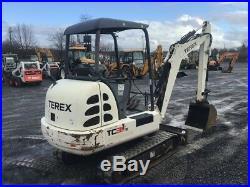 2007 Terex TC35E Mini Hydraulic Excavator