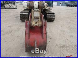 2007 Terex TXC140-LC-1 Hydraulic Excavator Cab A/C 24 Bucket bidadoo