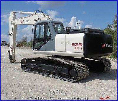 2007 Terex TXC225LC-1 Hydraulic Tracked Excavator Cab A/C Heat bidadoo