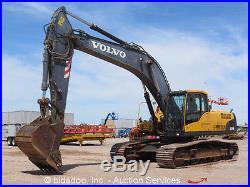 2007 Volvo EC290CL Excavator Cab Hydraulic A\C 48 Bucket D7E Turbo Aux bidadoo