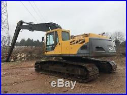 2007 Volvo EC290 Long Stick Excavator 50 Foot Stick