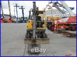 2007 Volvo EC35 Hydraulic Mini Excavator Trackhoe Rubber Tracks Dozer Diesel AUX