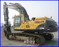 2007 Volvo EC360B LC Hydraulic Excavator Thumb Quick Coupler Aux # 2892