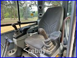 2007 Volvo Ecr88 Excavator Enclosed Cab A/c Blade Switchable Controls
