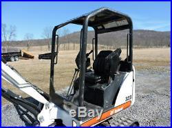 2008 Bobcat 323 Rubber Track Mini Excavator Kubota Diesel Aux Hyds 2 Speed