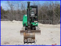 2008 Bobcat 329G Compact Mini Excavator Aux Hydraulics Kubota 28 HP Engine