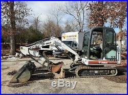 2008 Bobcat 331G Mini Excavator with Cab ac, heat, Kubota Diesel Engine! 700 hours