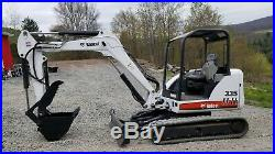 2008 Bobcat 335g Excavator Hydraulic Thumb Kubota Diesel Nice! Ready To Work