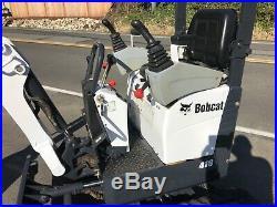 2008 Bobcat 418 / E10 Mini Excavator also Skidsteer kubota John Deere Case CAT
