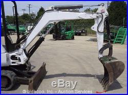 2008 Bobcat 425G Mini Excavator Rubber Track Backhoe Blade Aux Hydraulic bidadoo