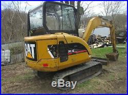 2008 Cat 302 5C Excavator Caterpillar with Thumb