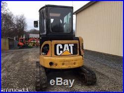2008 Cat 303.5C CR Rubber Track Mini-Excavator Diesel Hydraulic Track Excavator
