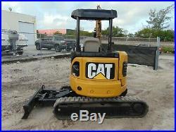 2008 Cat 303cr Mini Excavator 8,000 Lbs Hydraulic Angle Tilt Blade Option