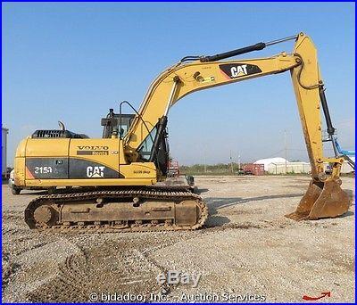 2008 Caterpillar 315DL Excavator Backhoe Cab Heat A/C 36 Bucket bidadoo