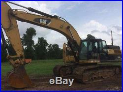 2008 Caterpillar 330DL Excavator 42 Loader Bucket Standard Tracks