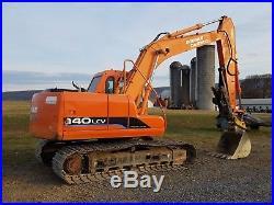 2008 Doosan Daewoo Solar 140LC V Excavator Turbo Diesel Track Hoe Aux Hydraulic