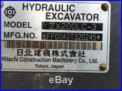 2008 HITACHI ZX200LC-3 HYDRAULIC EXCAVATOR
