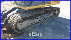 2008 John Deere 120D Diesel Excavator Machine Leveling Blade, Thumb, Trackhoe