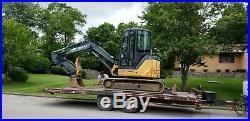 2008 John Deere 50d Mini Excavator