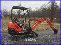 2008 Kubota Kx41-3v Mini Excavator Trencher Backhoe Low Cost Shipping Rates