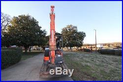 2008 KUBOTA KX71-3 TRACK EXCAVATOR, PUSH BLADE, 9'-7 DIG DEPTH, Only 1306 Hrs