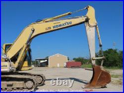 2008 Komatsu PC200LC-8 Hydraulic Excavator Tractor A/C Cab Diesel bidadoo