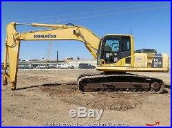 2008 Komatsu PC 200LC-8 Hydraulic Excavator Tractor A/C Cab Diesel bidadoo