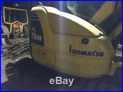 2008 Komatsu Pc 78Us-8
