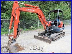 2008 Kubota KX121-3 Hydraulic Mini Excavator Rubber Tracks Hyd Thumb bidadoo