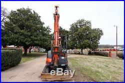2008 Kubota KX71-3 Track Excavator, PUSH BLADE, 9'-7 DIG DEPTH
