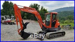 2008 Kubota Kx161-3 Excavator A/c Angle Blade Hydraulic Thumb Ready To Work
