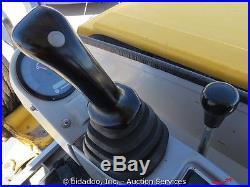 2008 Mustang 3803ZT Hydraulic Mini Excavator Yanmar 36HP Diesel Aux Hyd bidadoo