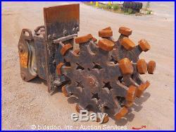 2008 SUI 24 Compaction Wheel Excavator Attachment Compactor PC160 Q/C