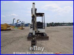 2008 Terex TC37 Mini Excavator Track Backhoe Dozer Blade Aux Hyd Diesel bidadoo