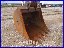 2008 Terex TXC340LC-2 Hydrualic Excavator 256HP Cab A/C 60 Bucket bidadoo