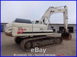 2008 Terex TXC340LC-2 Hydrualic Excavator 256HP Diesel Cab A/C 60 Bucket