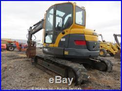 2008 VOLVO ECR88 Hydraulic Excavator Cab AC Hyd Thumb Aux Hyd Diesel Repair