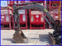 2008 Volvo EC15B Mini Excavator Knockdown Blade Auxiliary Hydraulics Q/C bidadoo