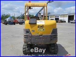 2008 Volvo EC25 Hydraulic Mini Excavator Trackhoe Rubber Tracks Dozer bidadoo