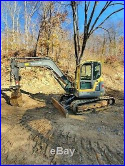 2008 Volvo ECR88 Hydraulic Excavator