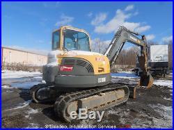 2008 Volvo ECR88 Mini Hydraulic Excavator Cab A/C Heat Hyd Thumb Dozer bidadoo