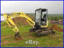2008 Yanmar VIO35-5 VIO35 Mini Excavator