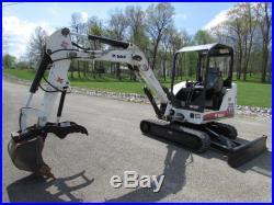 2009 Bobcat 331g Mini Excavator / New Hdraulic Thumb / 40hp Kubota / 2029 Hours