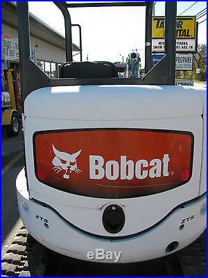 2009 Bobcat Excavator 425 Kubota 27hp Diesel Engine